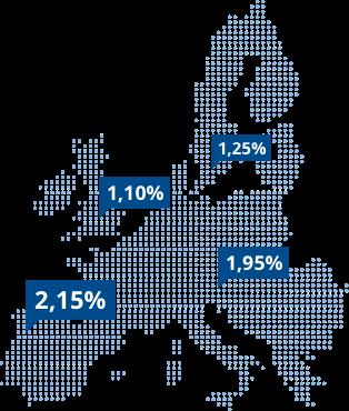 Termingeld europaweit anlegen mit WeltSparen