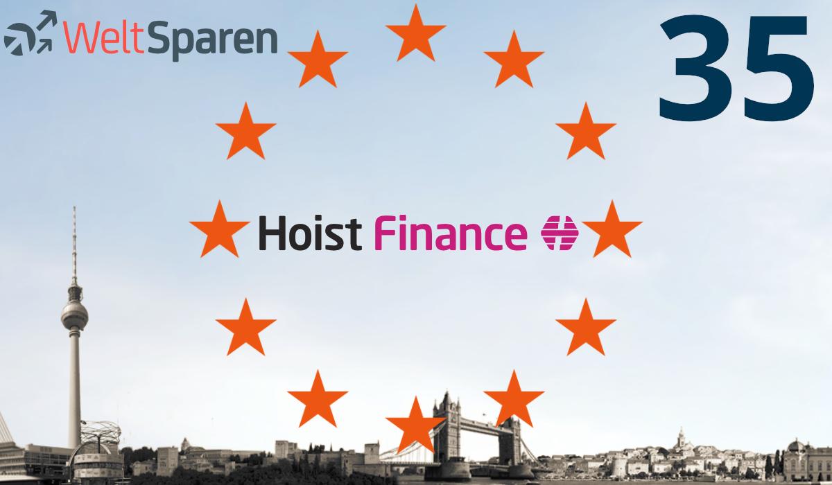 Hoist Finance aus Schweden ist Partner Nummer 35!