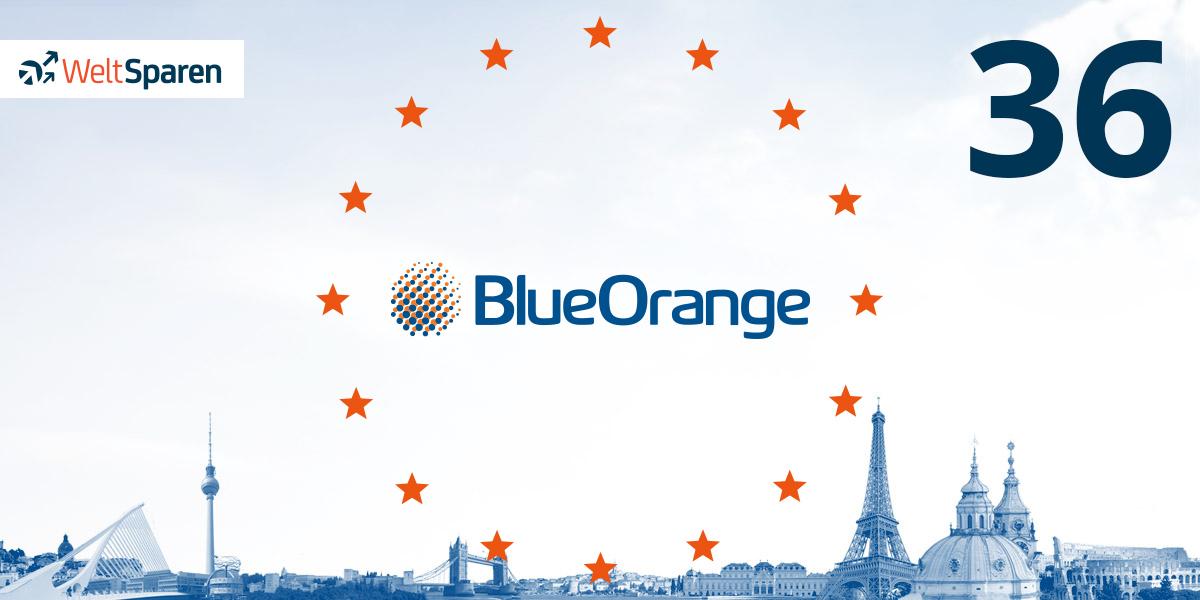 BlueOrange Bank aus Lettland ist Partnerbank Nummer 36!